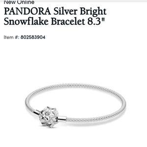 Pandora snowflake bracelet